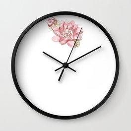Keep calm and sat nam Wall Clock