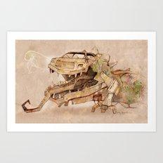 Mechanical Reincarnation Art Print