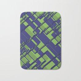 3D Abstract Futuristic Background III Bath Mat