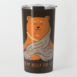 Buddha Bear Travel Mug