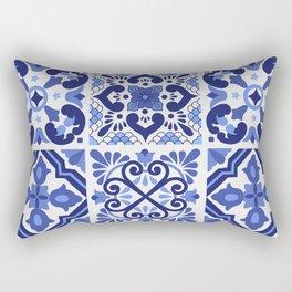 Mediterranean Tiles Design Nº1 Rectangular Pillow