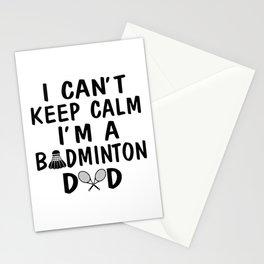I'M A BADMINTON DAD Stationery Cards