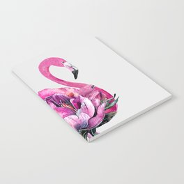 Flower Flamingo Notebook