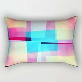 constructs #2 (35mm multiple exposure) Rectangular Pillow