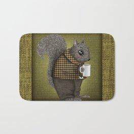 An Early Morning For Mister Squirrel Bath Mat