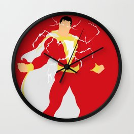 Billy Batson Wall Clock