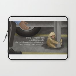 Baby Sloth Rescue Laptop Sleeve