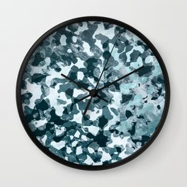 Surfing Camouflage #5 Wall Clock