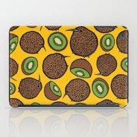 kiwi iPad Cases featuring Kiwi by Nemki