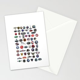 Vintage Logos Show Stationery Cards