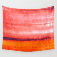 rothko Wall Tapestries featuring Summer heat by Picomodi