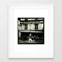 tintin Framed Art Prints featuring streetphotography paris by Carthagena