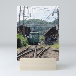 Kamakura Enoden Mini Art Print