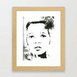 Rien/Moss  Framed Art Print