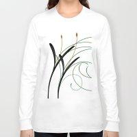 grass Long Sleeve T-shirts featuring Grass by DistinctyDesign