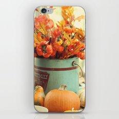 The Autumn table iPhone & iPod Skin