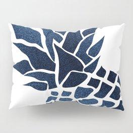 Pineapple, Big Blue, Denim Navy Pillow Sham