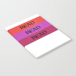 READ READ READ {PURPLE} Notebook