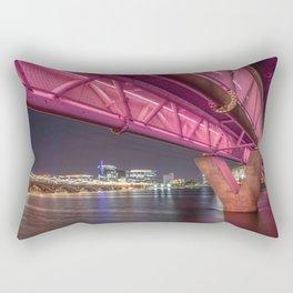 The Bridge Rectangular Pillow