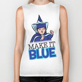 """Merryweather """"Make It Blue"""" / Sleeping Beauty Biker Tank"""