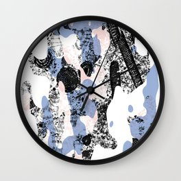 ALVEOLINIDAE Wall Clock