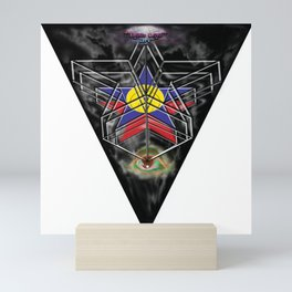 """Beez Lee Art : Wish Upon A Triangle Star"" Mini Art Print"