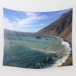 Amazing Ocean View Wall Tapestry