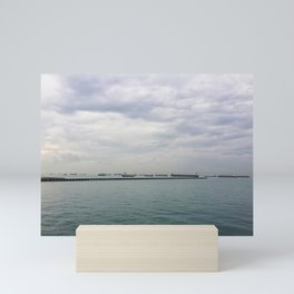Singapore Shipping Mini Art Print