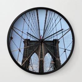 Brooklyn Bridge Wall Clock