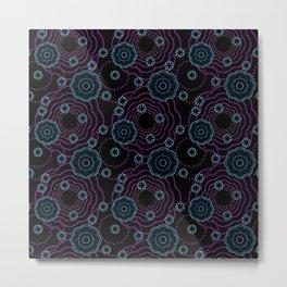 art of batik two Metal Print