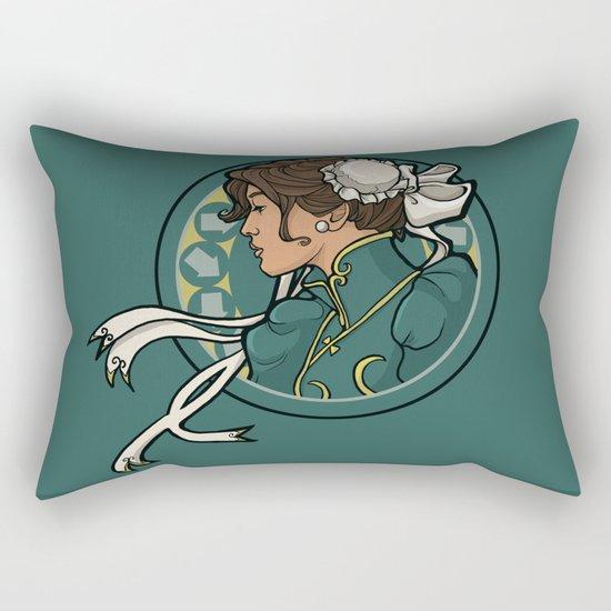Chun-Li Nouveau Rectangular Pillow