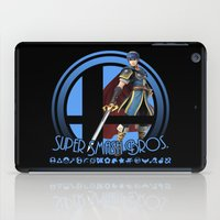 super smash bros iPad Cases featuring Marth - Super Smash Bros. by Donkey Inferno
