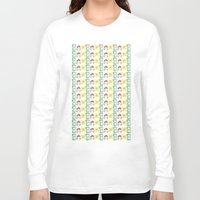 nintendo Long Sleeve T-shirts featuring Nintendo Love by Laura Pulido