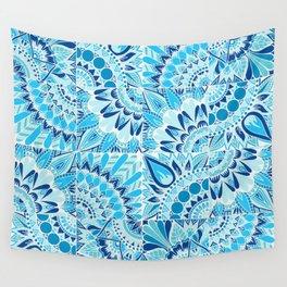 Inverted Ocean Mandalas Wall Tapestry