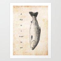Treat To Eat Art Print
