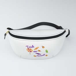 Halloween Trick or Treat Candy Fun Fanny Pack