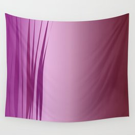 design wild lines ethnic pink Wall Tapestry