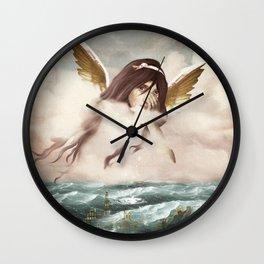 An Ocean of Sorrow Wall Clock