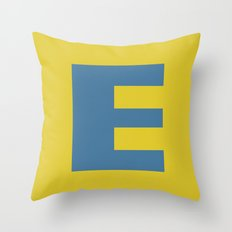 E is for Emeline :-) Throw Pillow