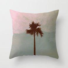 Palm Tree (vintage) Throw Pillow