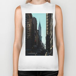Manhattan Street Scene Biker Tank