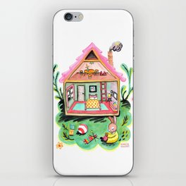 Rebecca Rabbit, Her House, and Her Belongings iPhone Skin