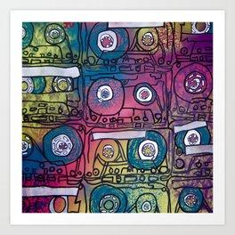 cassette tapes II Art Print