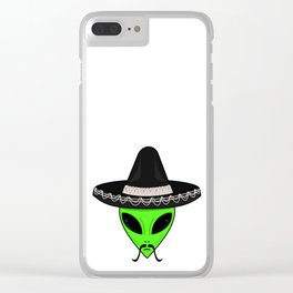 Intergalactic Immigrant Clear iPhone Case