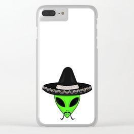 Intergalactic Immigrant Clear iPhone Case