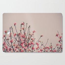 Vintage Magnolia Flowers Cutting Board