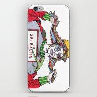 sriracha iPhone & iPod Skins featuring I'm Sriracha Hot by Yusun K