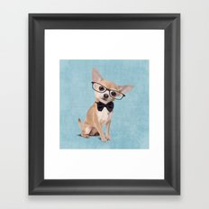 Mr. Chihuahua Framed Art Print