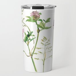 the daily creative project: grasses and herbaceous herbs Travel Mug