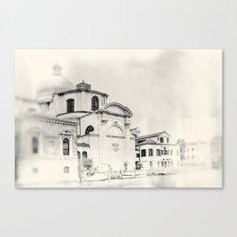 Venice - Study 9 Canvas Print